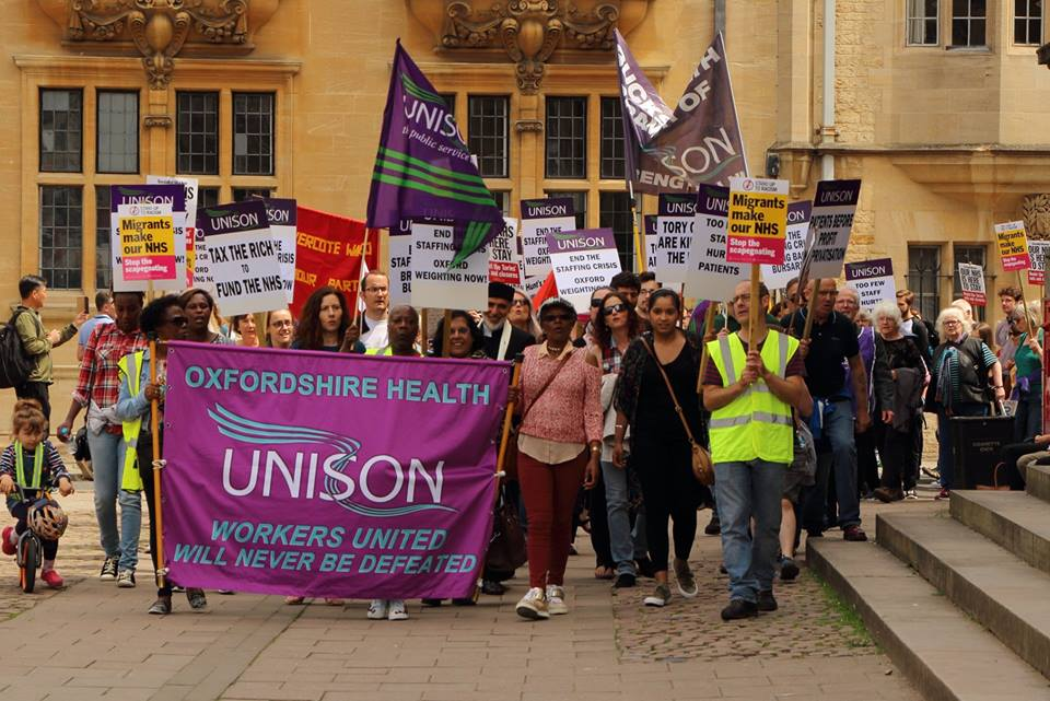 Oxford NHS march 2018